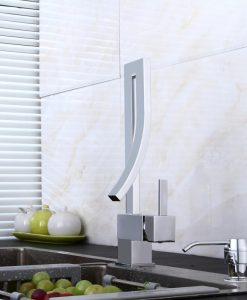 Moderná kuchynská batéria