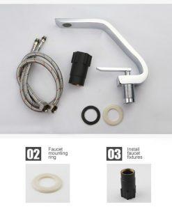 Chrómová batéria do kúpeľne BECOLA