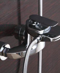 Kúpeľňová chrómová batéria BECOLA