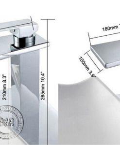 Chrómová kúpeľňová batéria BECOLA