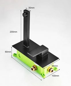 Chrómová zabudovateľná batéria BECOLA