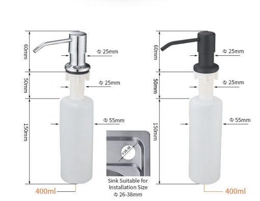Dávkovač pre mydlo - 2 typy