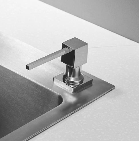 Dizajnový dávkovač mydla - 2 varianty