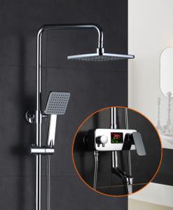 Smart sprchový set s LCD displejom