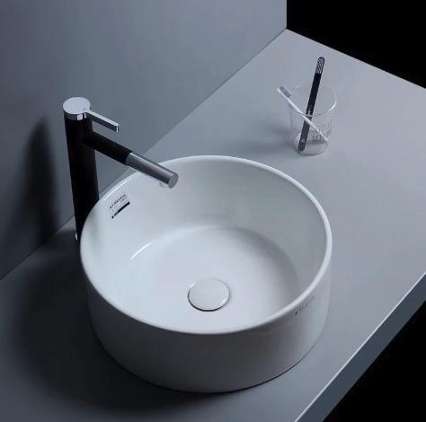 Kúpeľňová chrómová batéria