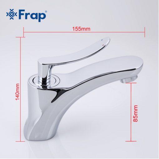 Chrómová kúpeľňová batéria Frap Y10043