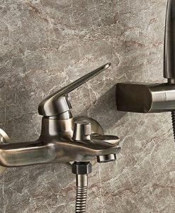 Antická sprchová batéria - Ledeme Classic