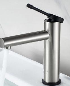 Niklová kúpeľňová batéria - Ledeme L104