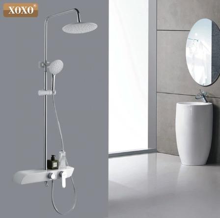 Moderný sprchový set v 3 farbách - X71