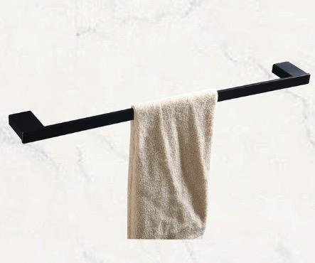 Kovový vešiak na uteráky - 2 farby