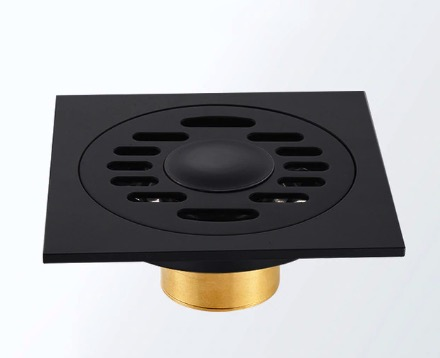 Čierny kúpeľňový odtok - 2 varianty