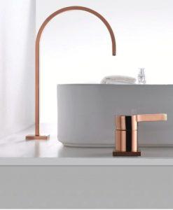 Dizajnová umývadlová batéria - QIU942