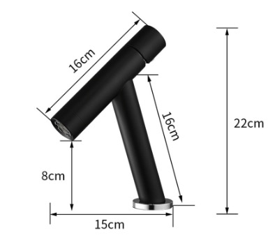 Minimalistická kúpeľňová batéria - WF79