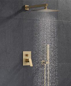 Zlatý podomietkový sprchový set - YS95