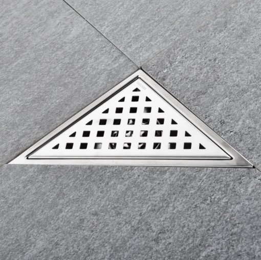 Trojuholníkový odtok Stainless