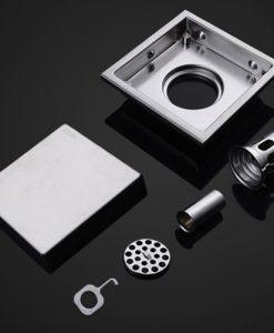 Moderný kúpeľňový odtok - Q32 Silver