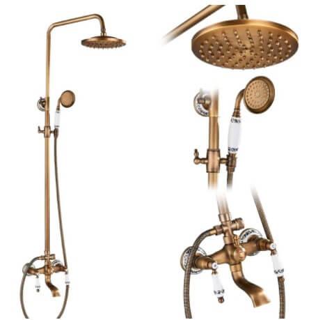 Vintage sprchový set - DE321