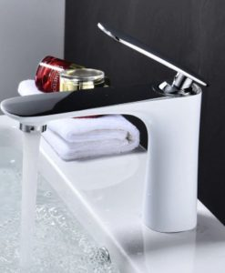 Biela umývadlová batéria - YSBF9