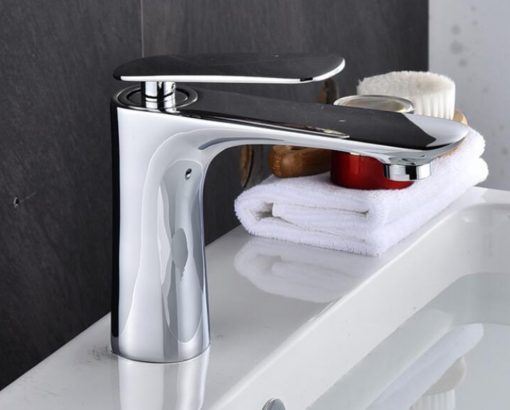 Chrómová minimalistická kúpeľňová batéria – YSBF5