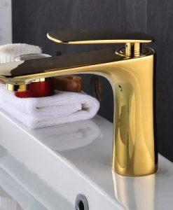 Zlatá minimalistická kúpeľňová batéria – YSBF6