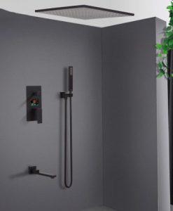 Podomietkový LCD sprchový set K60 - 2 farby