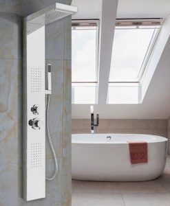 Panelový sprchový set HWC - 4 farby