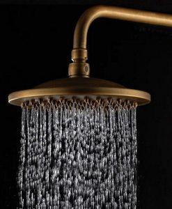 Mosadzná sprcha CZ2 - 3 typy